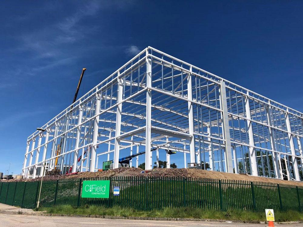 Blarney Business Park Steel Structure