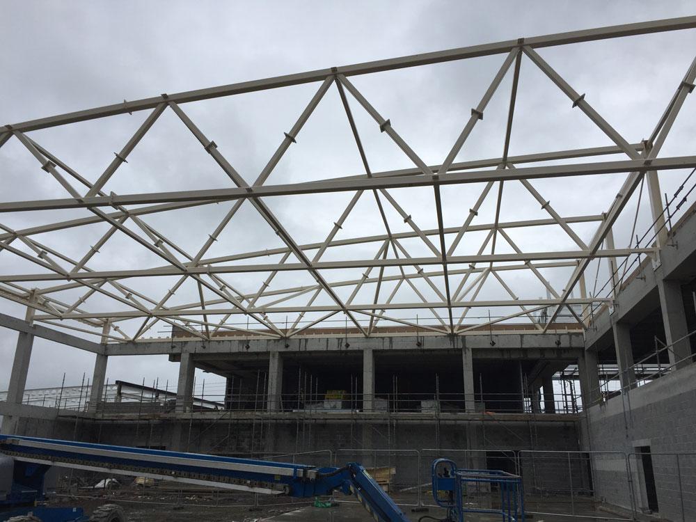 ITT Sports Academy Tralee Steel Fabrication