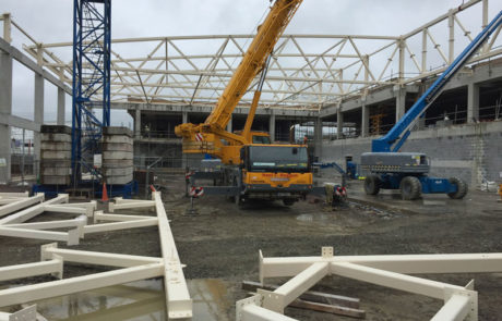ITT Sports Academy Tralee Construction