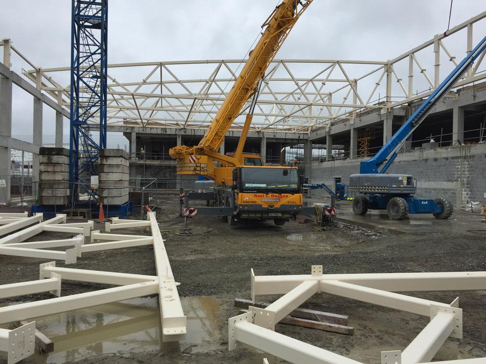 ITT Sports Academy Tralee Construction